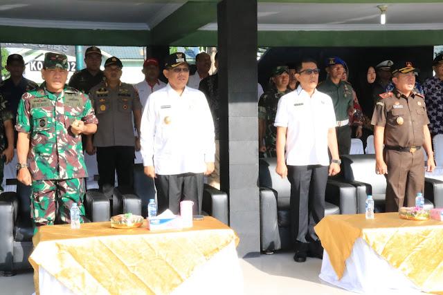 Akhyar Hadiri Apel Konsolidasi Berakhirnya Operasi Ketupat Toba 2019