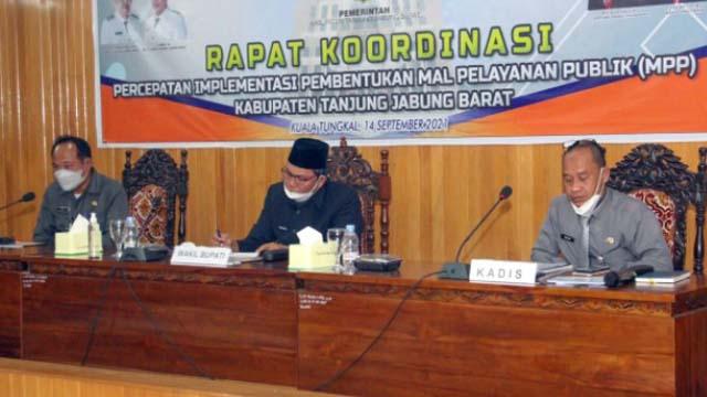 Wabub Tanjabar Pimpin Rakor MPP