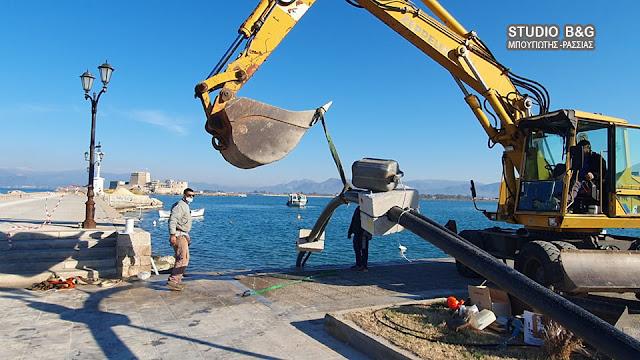 Η ΔΕΥΑ Ναυπλίου συνδέει το Μπούρτζι με το δίκτυο ύδρευσης αποχέτευσης - Ξεκίνησαν τα έργα (βίντεο)