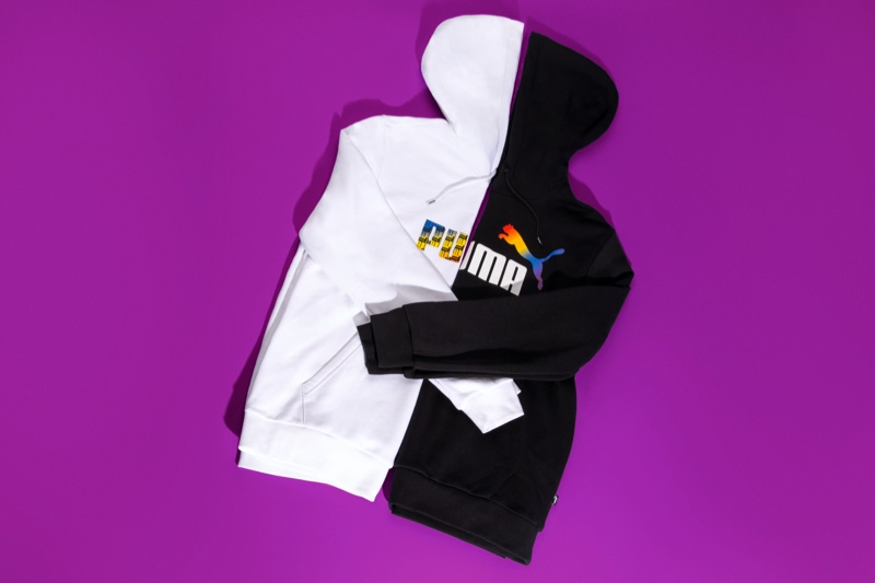 A look at the From PUMA With Love Pride pack.