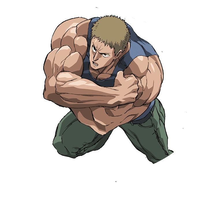 แทงค์ท็อปมาสเตอร์ (Tank-Top Master) @ One-Punch Man วันพั๊นช์แมน