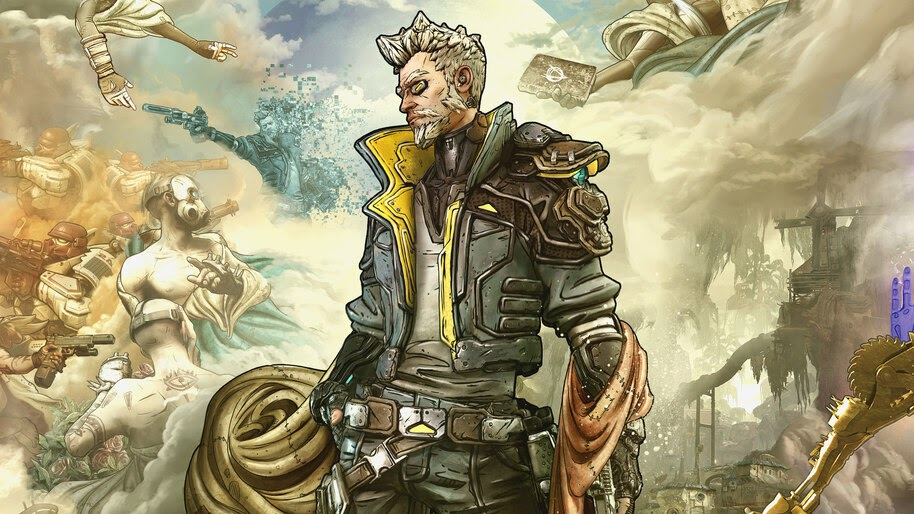 Zane Borderlands 3 4k Wallpaper 3619