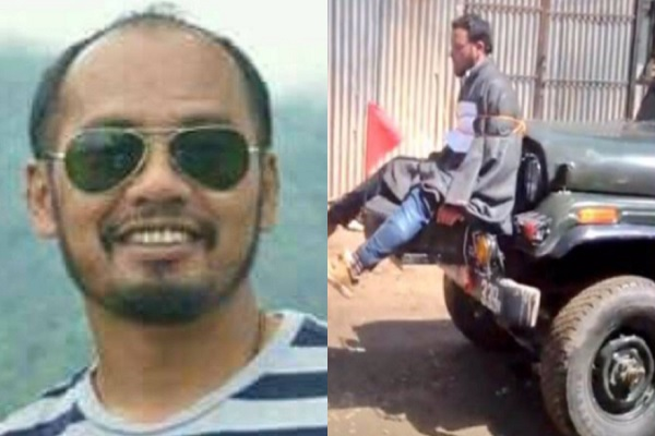 major-leetul-gogoi-honored-by-indian-army-tied-stone-pelter-jeep
