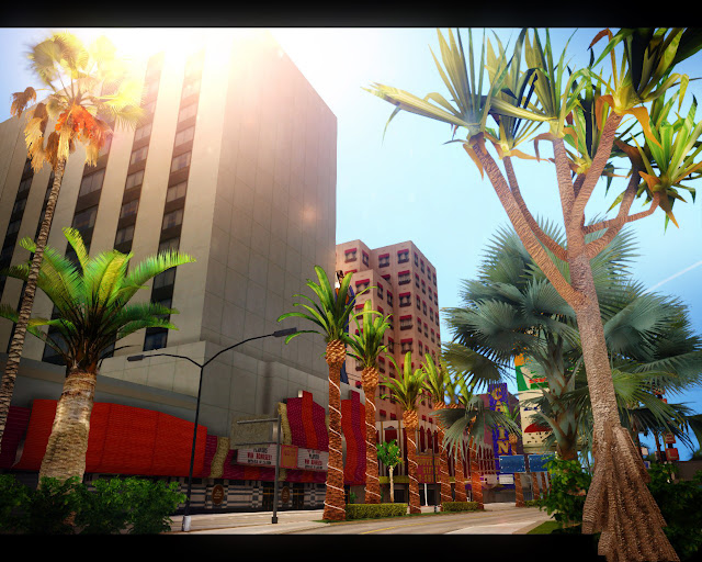 GTA San Andreas Vegetation Mod 2021