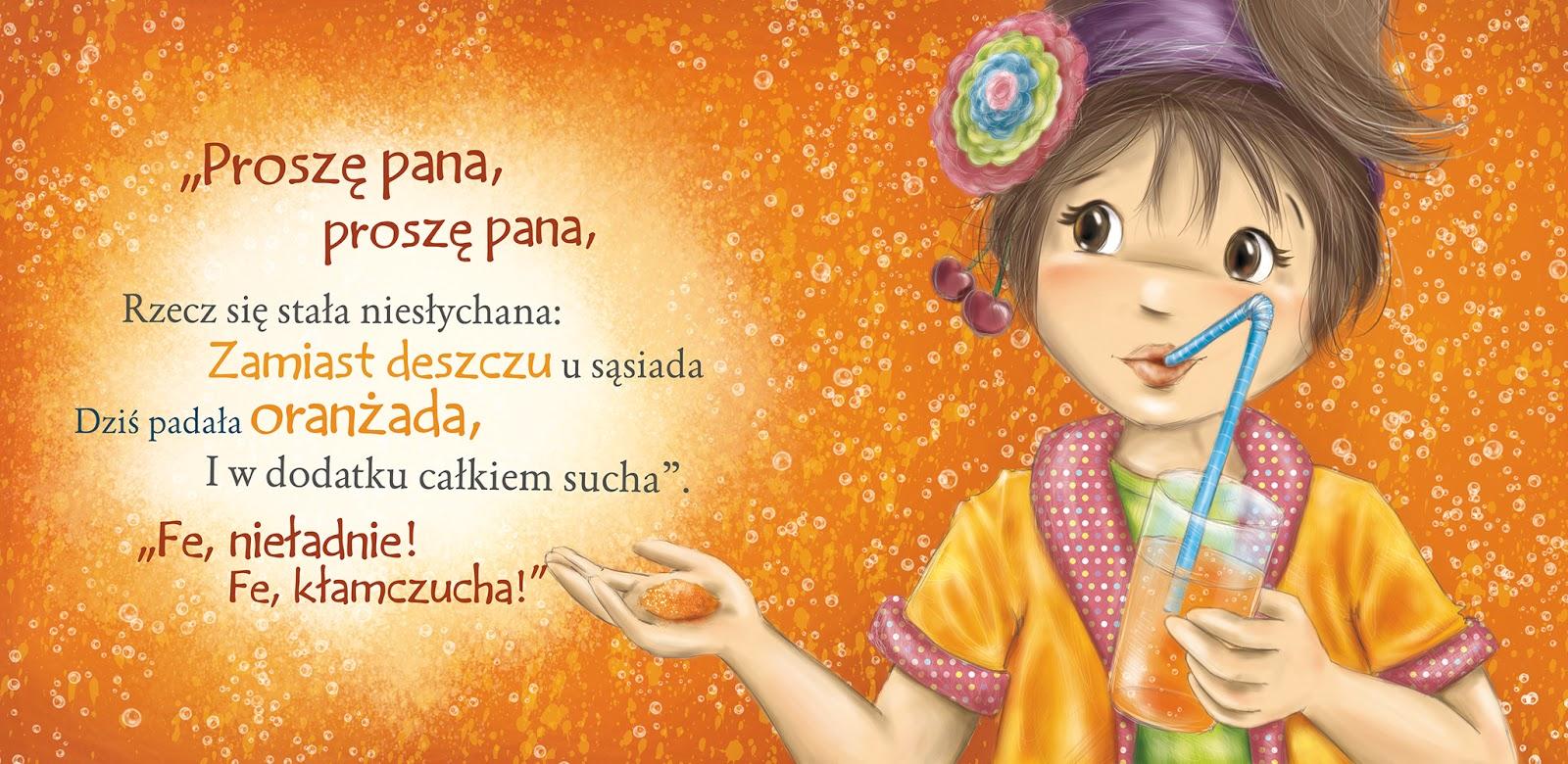 Agnieszka Filipowska Ilustracje Wierszyki Jana Brzechwy