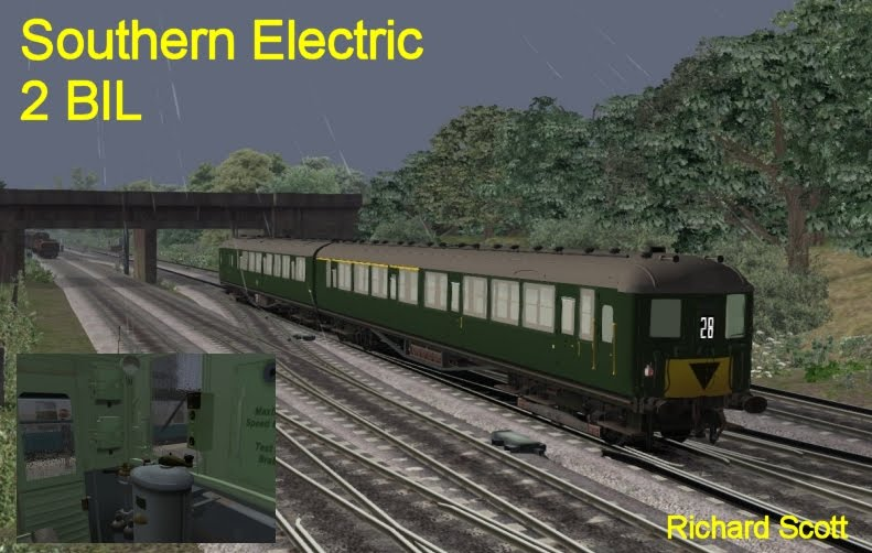 DPSimulation: BR SR Electric 2BIL - Available Now - Railworks 3