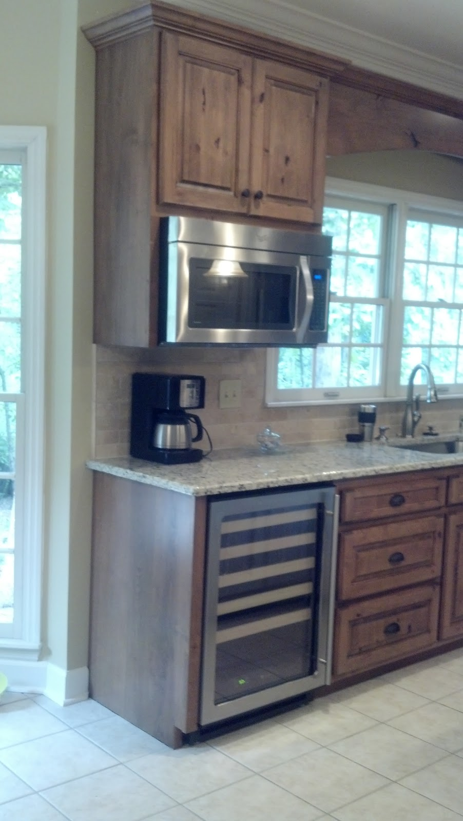 Adkisson's Cabinets: White Painted and Distressed Knotty ...