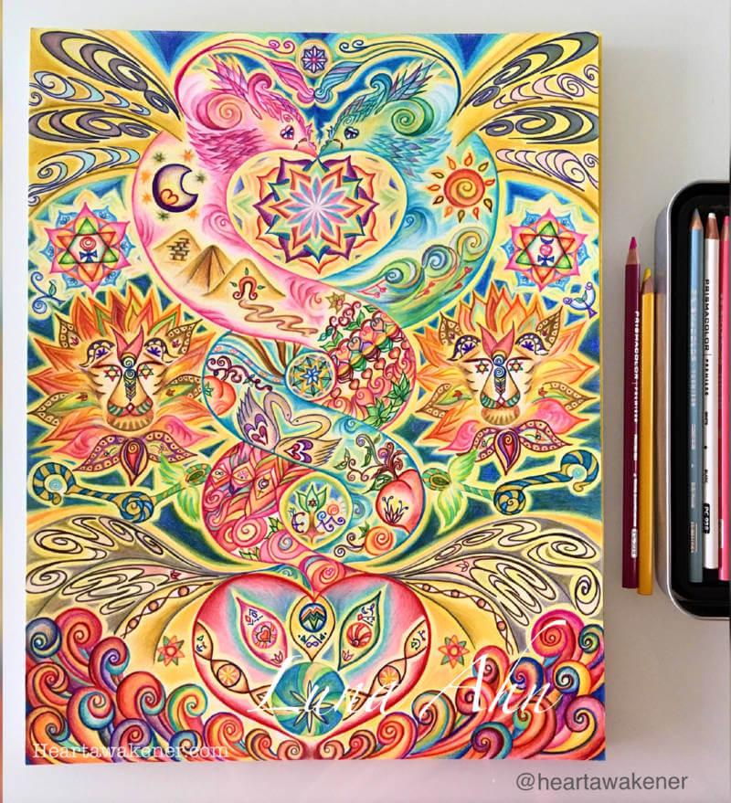 kundalini balance for chakra healing by Luna Ahn