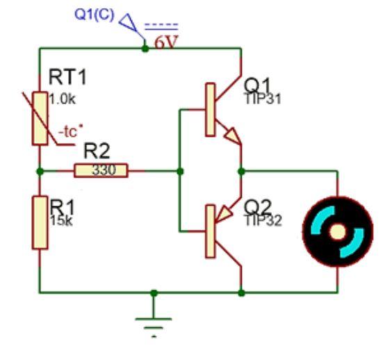 Implementasi sensor NTC