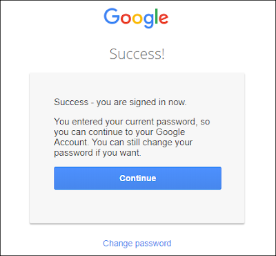 Recover Google Account