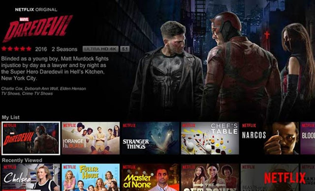 Streaming Film (Netflix)