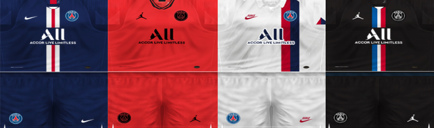 Kits Paris Saint-Germain PES 6