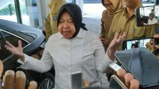 Wali Kota Surabaya Risma Kembali Ngamuk, Maki-maki Perempuan di Kantor Polisi