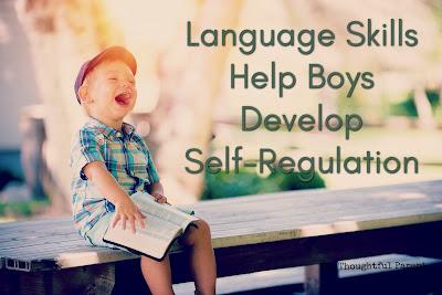 Language Skills Help Boys Develop Self-Regulation