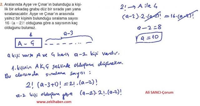 10. Sınıf MEB Yayınları Matematik 27. Sayfa Cevapları