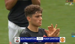 Southampton vs Manchester United 1-1 Highlights