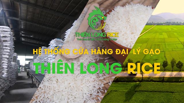 Hệ thống ửa hàng đại lý Gạo Ngon Sài Gòn Thiên Long Rice