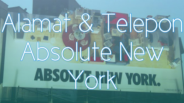 Alamat dan Nomor Telepon Absolute New York Central Park Mall