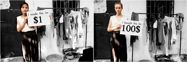 Sweatshop series: the hunt for living wage. Photo courtesy of sweatshop.no.