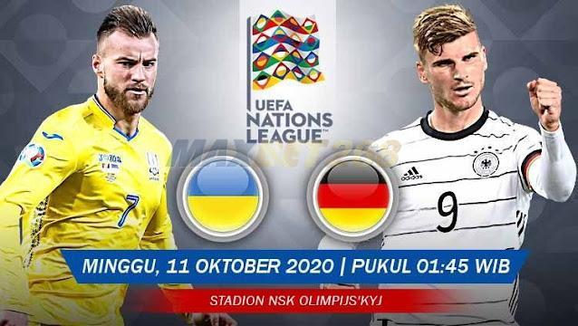 Prediksi Ukraina Vs Jerman, Minggu 11 Oktober 2020 Pukul 01.45 WIB @ Mola TV