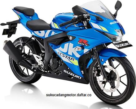 Suzuki GSX R150 Blue