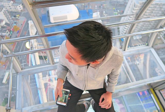 Tempozan see-through Gondola