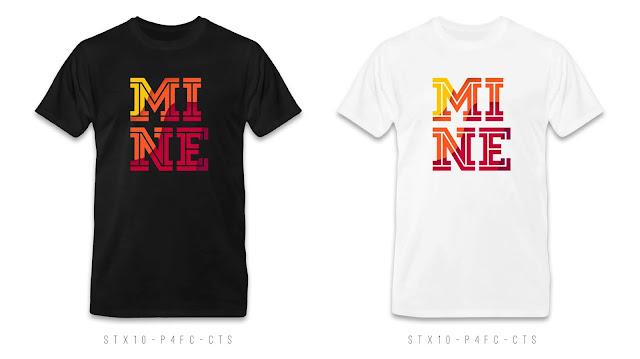 STX10-P4FC-CTS Text T Shirt Design, Custom T Shirt Printing