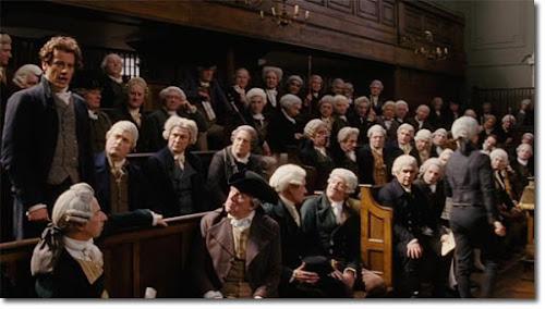 Ioan Gruffudd as William Wilberforce in 2006 movie Amazing Grace