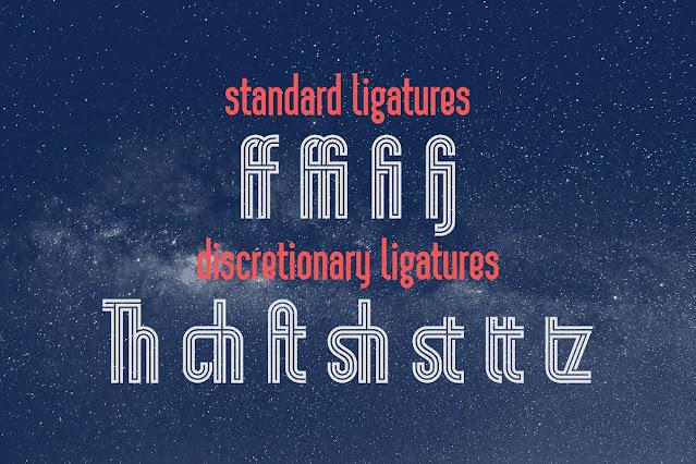 Display Font: Sansterdam Maze Font