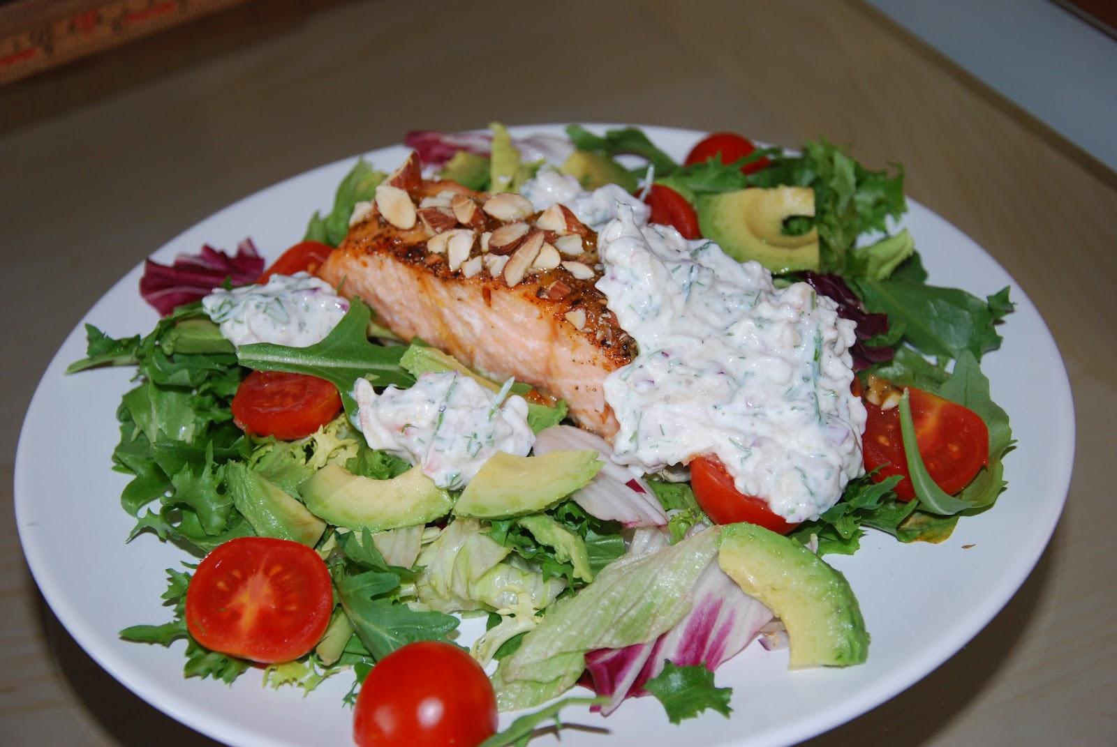 hvordan lage sunt god salat