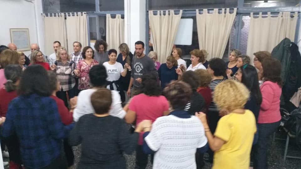 Μαθήματα παραδοσιακών χορών από τους Ενεργούς Πολίτες Λάρισας