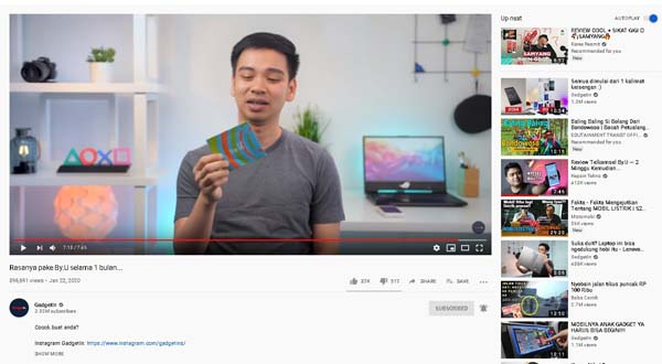 contoh kata ending penutup youtube