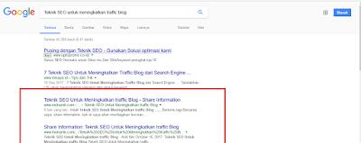 Rahasia Agar Situs Ranking Tinggi di Google