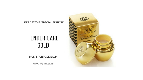 Special Edition: Tender Care Gold Krim Serba Guna
