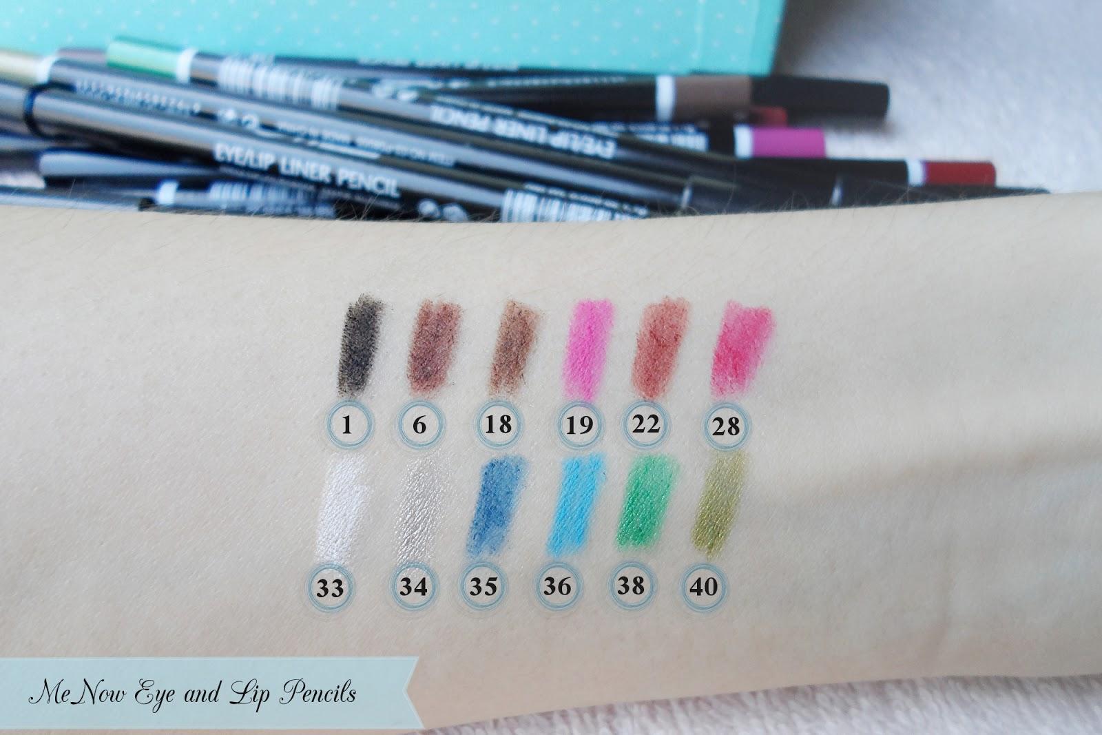 asian cosmetics menow pencils menow cosmetics review
