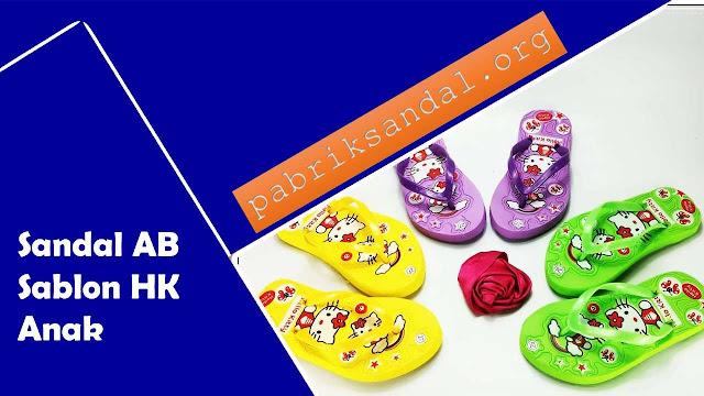 Produksi Sandal Anak Cewek Termurah & Trendy 2020- AB Sablon HK Anak
