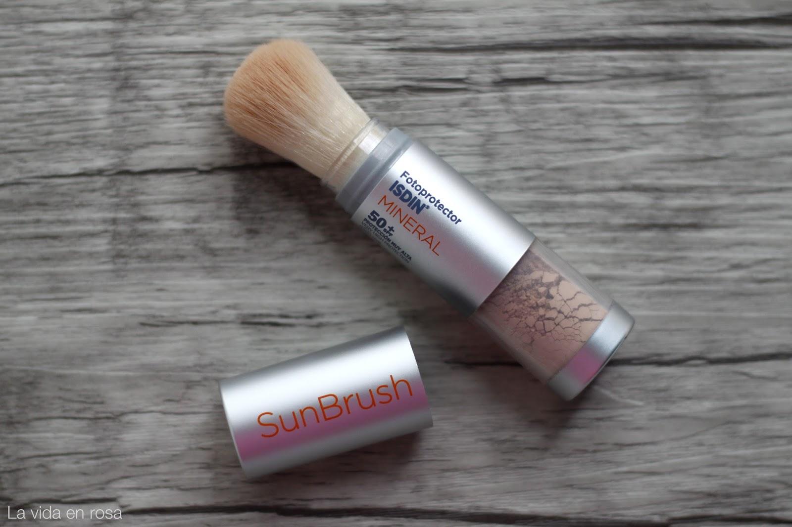 SunBrush Mineral de Isdin | La vida en rosa | Bloglovin\'