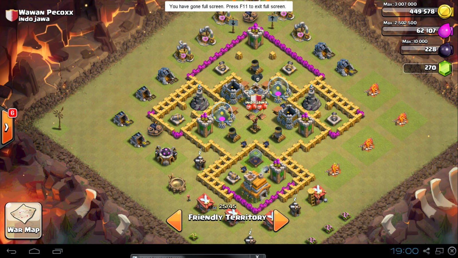 town hall 7 clash of clans