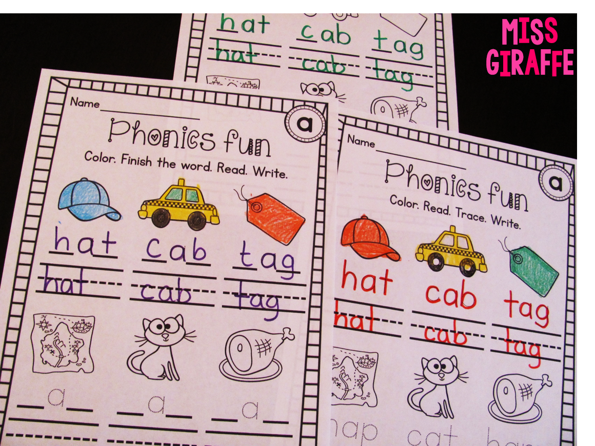 Miss Giraffe S Class Short A Activities And Resources