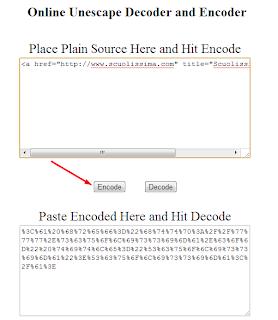 Come nascondere codice HTML • Scuolissima com