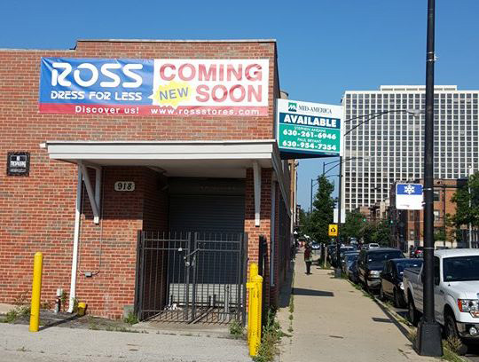 Estate Group S Website Was Featuring A Listing For The Former Dearborn Whole Site At 918 Montrose With Renderings Showing That Ross Dress Less