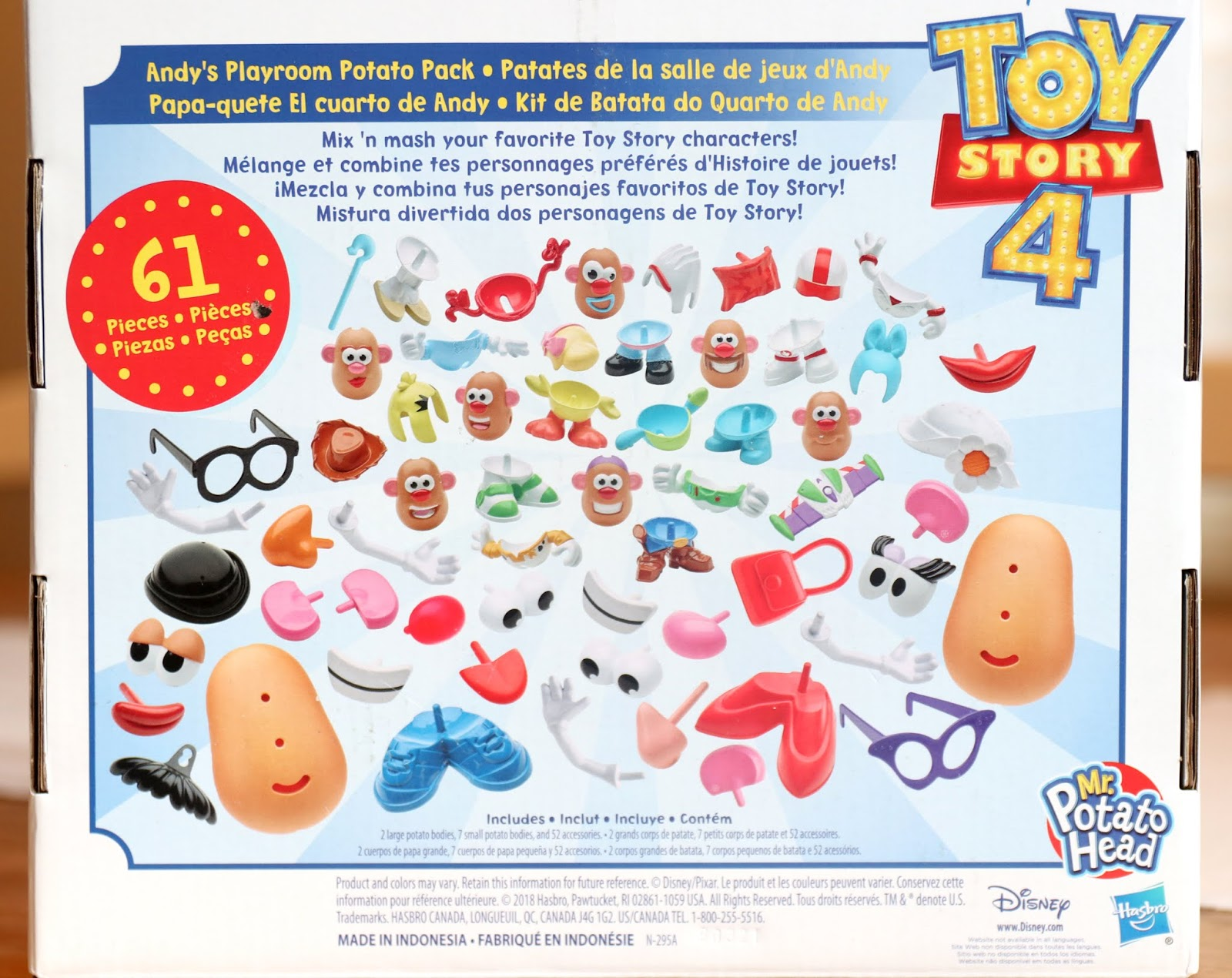 toy story 4 mr potato head potato pack review