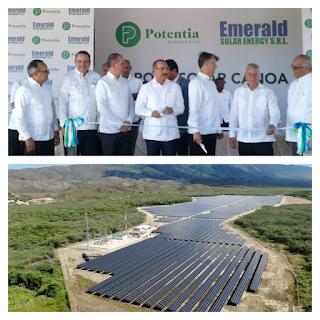 BARAHONA: Presidente Medina inaugura operaciones Parque Solar Canoa