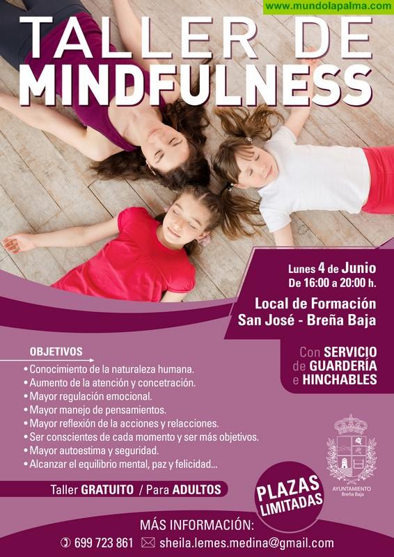 "BREÑA BAJA: Taller de ""Mindfulness"""