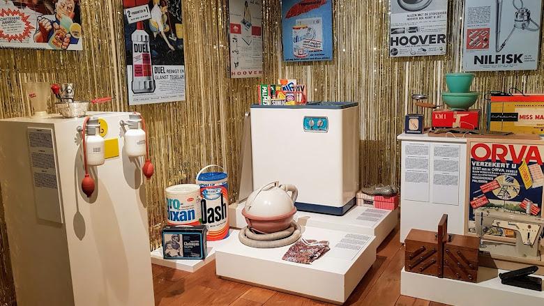 館內展出的洗衣清潔設備