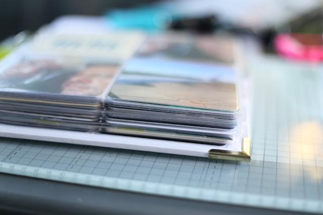 Traveljournal mit Project Life
