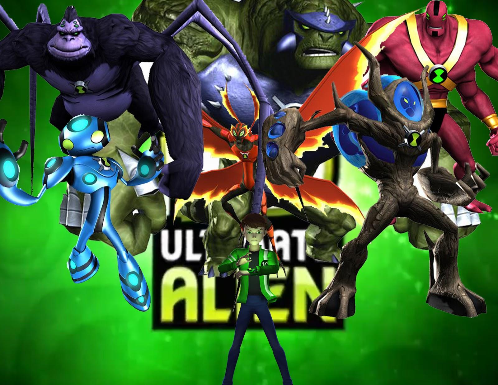 Ben 10: Ben 10 Wallpaper Hd Ultimate Alien