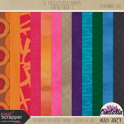Pixel Scrapper, blog train, Photoshop, Digital, Scrapbooking, October, 2016, freebie