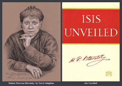 Helena Petrovna Blavatsky. Occultist and Philosopher. Theosophical Society. Isis Unveiled. by Travis Simpkins