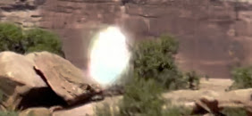 Luces en el Cerro de Moab